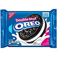 Oreo Double Stuf Chocolate Sandwich Cookies, 15.35 Ounce