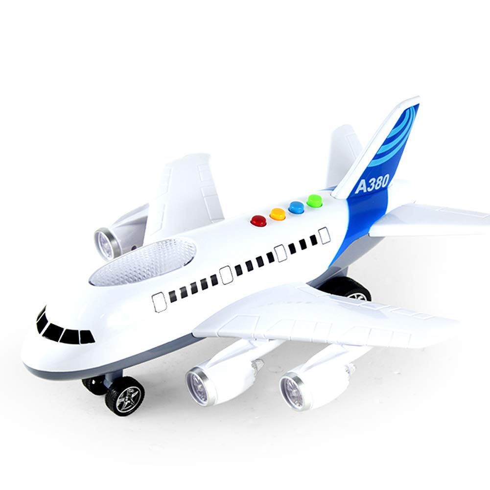 CQ Toy Aeroplane Kids Gifts Music Luminous Vientiane Intelligent Steering2485