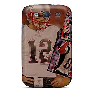 New Cute Funny Tom Brady Nfl Team Player Case Cover/ Galaxy S3 Case Cover