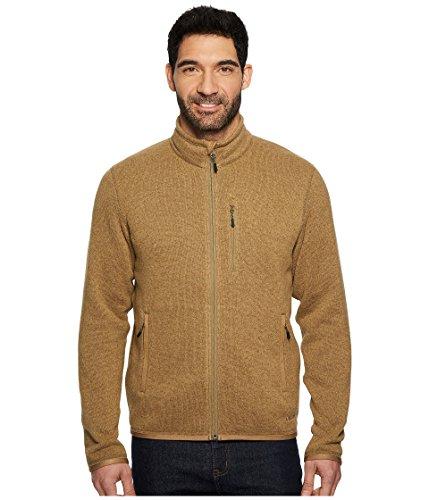 Filson Men's Ridgeway Fleece Jacket Ochre Medium