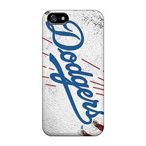 JonBradica Iphone 5/5s Best Hard Phone Covers Unique Design Trendy Los Angeles Dodgers Image [zAu6409RwGU]