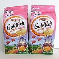 Pepperidge Farm Princess Cheddar Goldfish 2 Pack - 2 - 6.6 Oz Bags by Pepperidge Farm