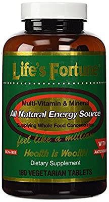 Life's Fortune® MultiVitamin & Mineral 180 Tablets