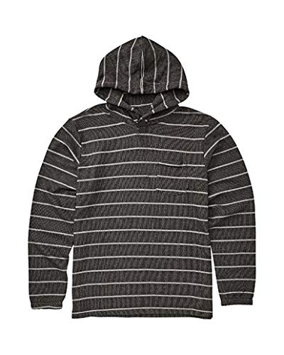 Billabong Boys' Flecker Ventana Pullover Hoodie Black X-Large