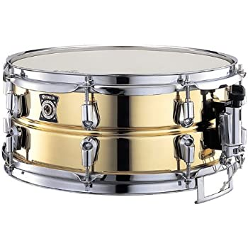 yamaha metal snare series sd 4355 13 inch brass snare drum musical instruments. Black Bedroom Furniture Sets. Home Design Ideas