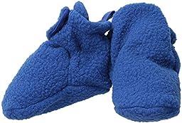 Luvable Friends Fleece Scooties, Solid Blue, 12-18 Months