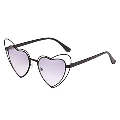 Zhhlaixing Femmes de Qualité Armature en Métal UV400 Protection Lunettes de Soleil Gradient Couleur Extérieure Lunettes Sunglasses drHCrqst