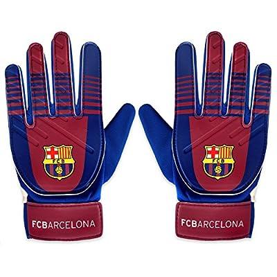 FC Barcelona Official Football Soccer Gift Boys Goalkeeper Goalie Gloves