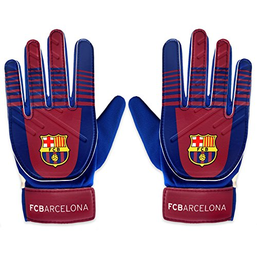 FC Barcelona Official Football Soccer Gift Boys Goalkeeper Goalie Gloves
