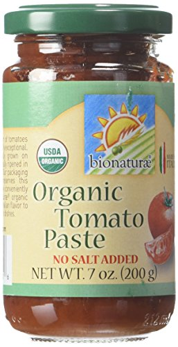 Bionaturae Organic Tomato Paste -- 7 oz Each / Pack of (Tomatoes In Glass)
