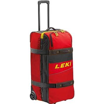 Leki Travel Trolley (Rojo): Amazon.es: Deportes y aire libre