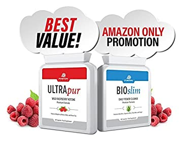 premium health bundle ultrapur wild raspberry ketone 60 capsules and bioslim daily power - Ultrapur Wild Raspberry Ketone Et Bioslim Daily Power Cleanse
