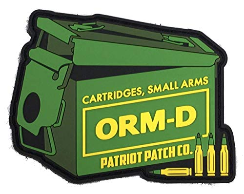 Patriot Patch Co - ORM-D Ammo Can - Patch