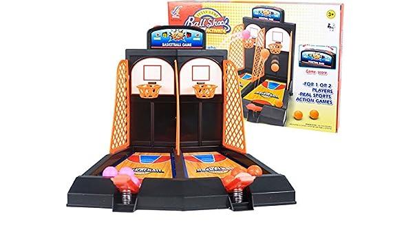 Lean Juego de Arcade Mini Baloncesto: Amazon.es: Juguetes y juegos