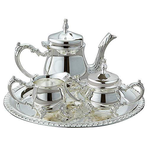 International Silver Plated - International Silver - Silverplated 4 Piece Coffee Set
