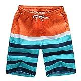 EOWEO Shorts Pants,2019 anniversary celebration Mens Shorts Swim Trunks Quick Dry Beach Surfing Running Swimming Water Pants