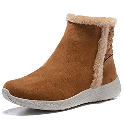Amazon.com | APELPES Women's/Girl's Fully Fur Lined Winter