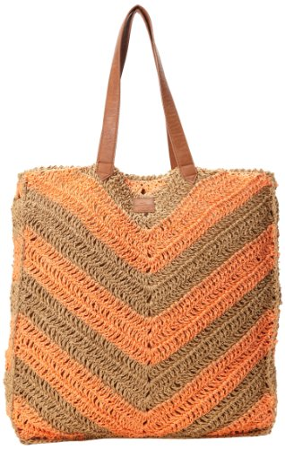 O'Neill Juniors Sadie Tote, Hot Coral, One Size