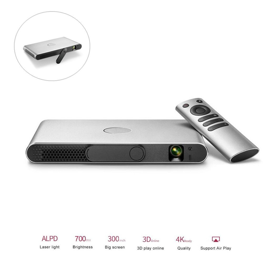 MTTLS Proyector 3D Proyector 1080P 4K DLP Home Cinema ...