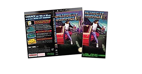Amazon Com Retro City Rampage Dx Ps4 Video Game Limited Gold Cover