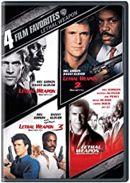 4 Film Favorites: Lethal Weapon (Lethal Weapon: Director's Cut, Lethal Weapon 2: Director's Cut, Letha
