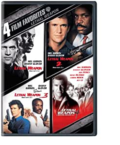 Lethal Weapon: 4 Film Favorites - Lethal Weapon 1-4