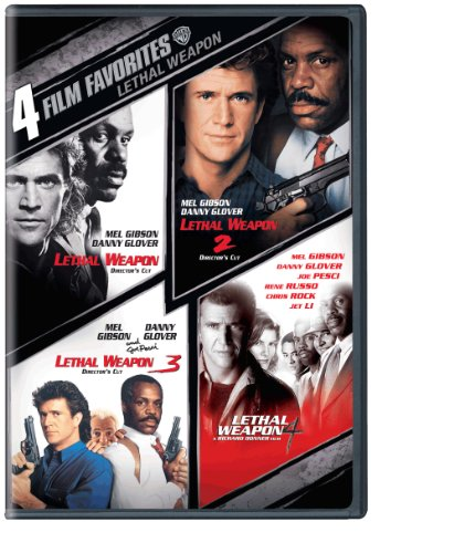 Best lethal weapon collection 1-4 dvd list