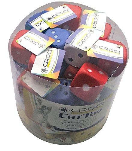 Croci Cube Cat Toy Mix, 3.5 cm