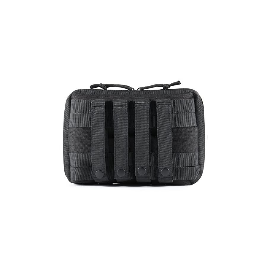 Tactical Pouch, Barbarians Multi Purpose Tool Holder EDC Rip Away EMT Medical First Aid Utility Pouch 4 Style Choices