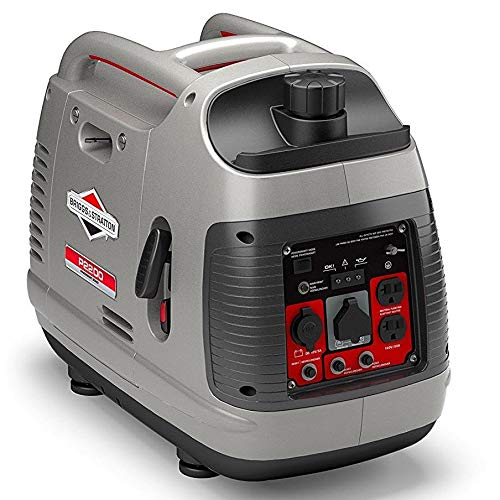 Briggs & Stratton 30651 P2200 PowerSmart Series Portable 2200-Watt Inverter Generator with Parallel Capability (Best Portable Home Generator Reviews)