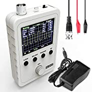 "Quimat Updated 2.4"" TFT Digital Oscilloscope Kit with Power Supply and BNC-Clip Cable Probe Q15001 (Assembled Finished Machine)"