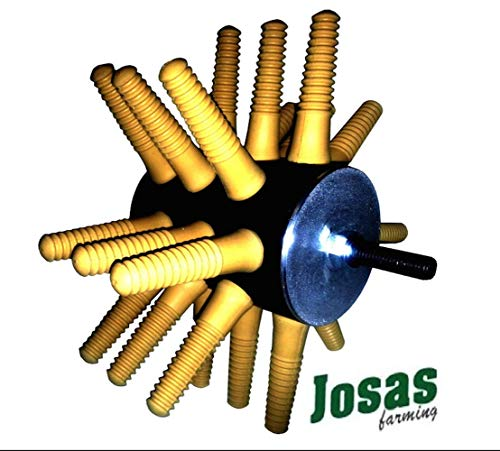 Josas Chicken Plucker, 24 Fingers, Easy to use! Feather plucker! Best buy!