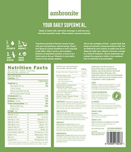 Ambronite Green Shaker Bottle 20 oz