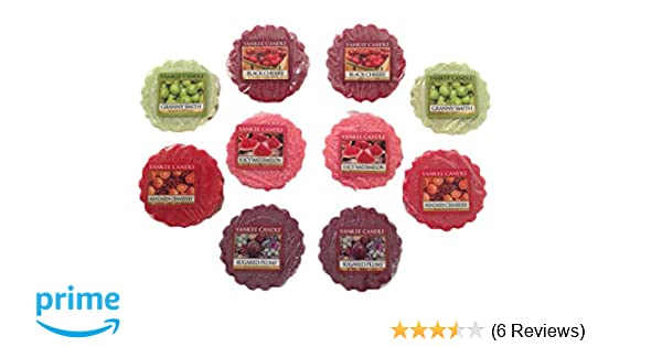 JELLY BEANS Tart Melts Candles New 6 Yankee Candle