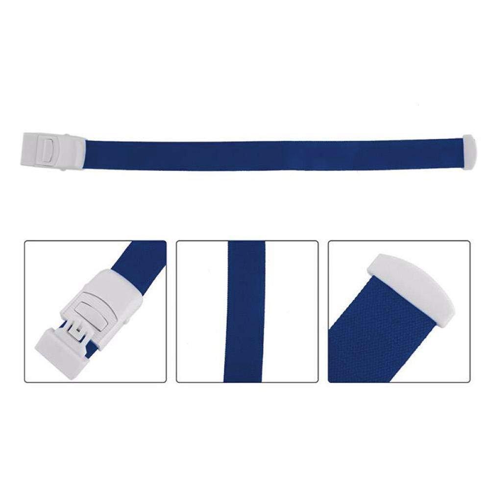 UnicocoVenenstauer Stauschlauch Stauband Staubinde Tourniquet Stauer 46CM Blau Ultra hohe Qualit/ät