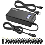 Outtag Voltage VERSATILE Universal Laptop AC Power Adapter/Charger 15V-20V 65W w/ USB Port & Multi Tips for HP Dell Toshiba IBM Lenovo Acer ASUS Samsung Sony Fujitsu Gateway Compaq and 5V Devices
