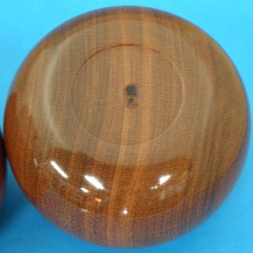 手作木製碁笥 花林(かりん)極上 特大36号