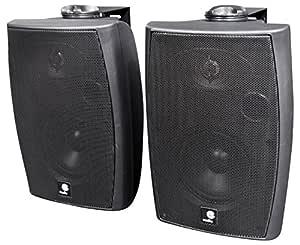 E-Audio - Altavoces de Pared con Bluetooth y Entrada Auxiliar (60 ...