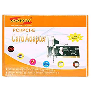 Shivox Pci/pci-e Card Adapter Sb 3.0 4 Port Card - Sx-1306