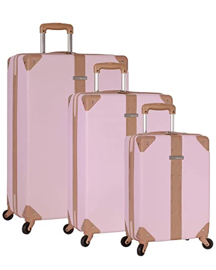 969f23d8e Amazon.com: Vince Camuto Laurra Luggage Set … (Lilac): Sports & Outdoors
