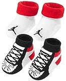 Jordan Baby Boys' 2-Pack Booties - red, 0 - 6 months