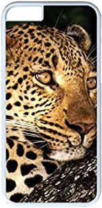 Animals Cheetah #27789 Apple iPhone 6 Case, iPhone 6 Cases PC White Hard Shell Cover Skin Cases