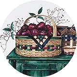 Range Kleen Set of Four Burner Kovers, Basket Collection