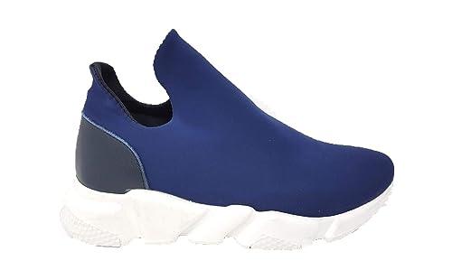 La Ultima Hombre Balenciaga Zapatillas Altas Azul Size: 36 EU