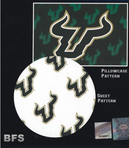 - The Northwest Company South Florida Bulls NCAA X-Long (Extra Long) Twin Sheet Set with Pillow Case