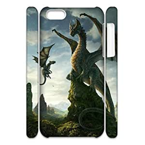 WJHSSB Customized 3D case Dragon for iPhone 5C