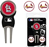 St. Louis Cardinals Divot Tool w/ One Double Sided Ball Marker