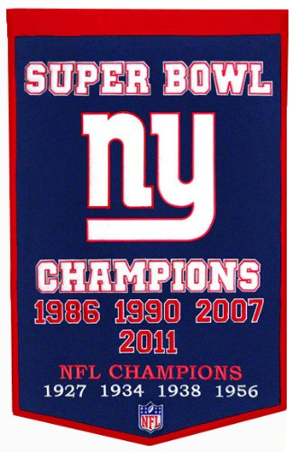 Nfl Pennant Wool - NFL New York Giants Dynasty Banner