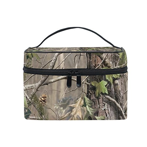 MaMacool Realtree Camo Background portable Cosmetic Bags Travel Makeup Case Storage Organizer]()