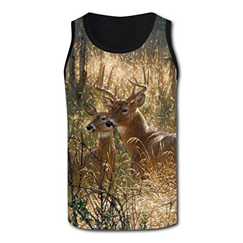 Gjghsj2 Fun Deers Tank Top Vest Shirts Singlet